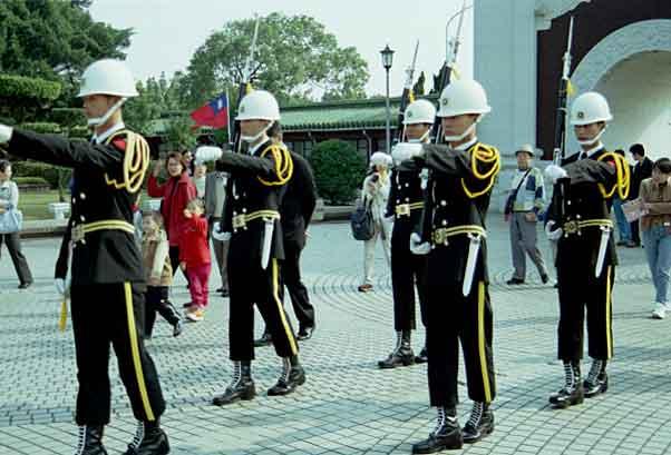 台湾の儀仗兵: Cafe de Castella